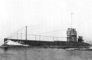 HMS D5