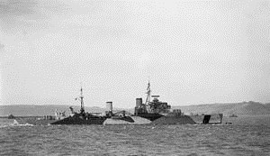 HMS Mauritius
