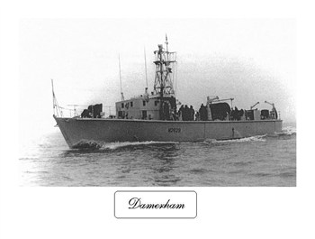 HMS Damerham