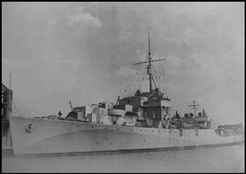 HMS Mourne