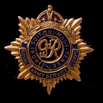 Royal Army Service Corps - Regiment History, War & Military