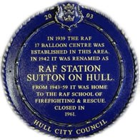 RAF Sutton on Hull
