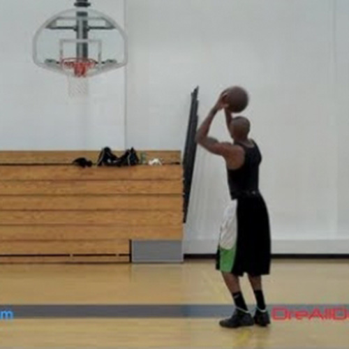 Basketball Shooting Workout Video 2 From Dre Baldwin