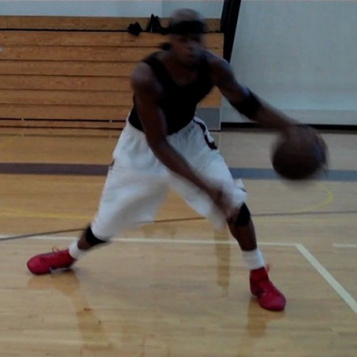 Basketball Crossover Workout Video 5 From Dre Baldwin
