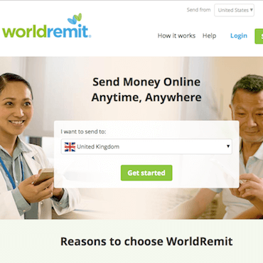 worldremit screenshot