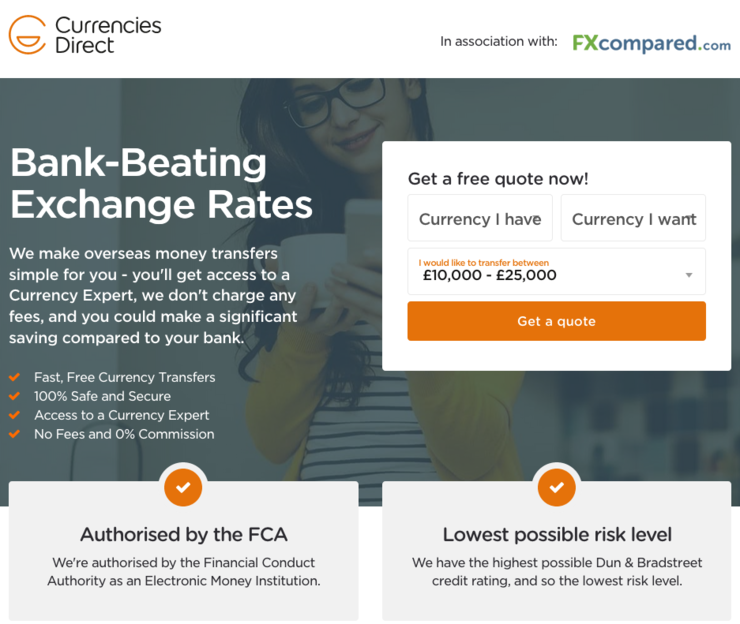 currencies direct global payment