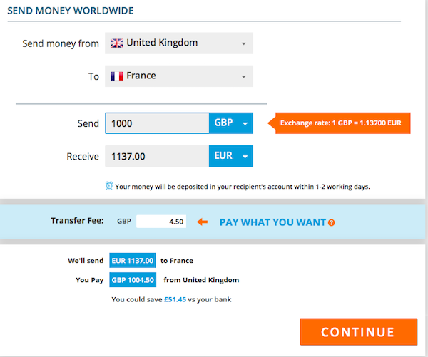 Xendpay fee calculator.png