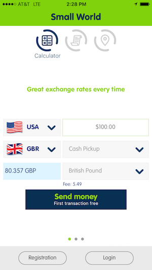 small world app currency calculator