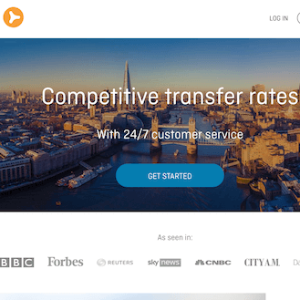 OFX UK Money Transfer Review Homepage