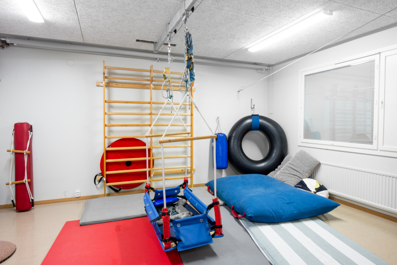 Fysios Järvenpää terapiasali