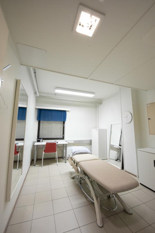 Fysios Kirkkonummi hoitohuone