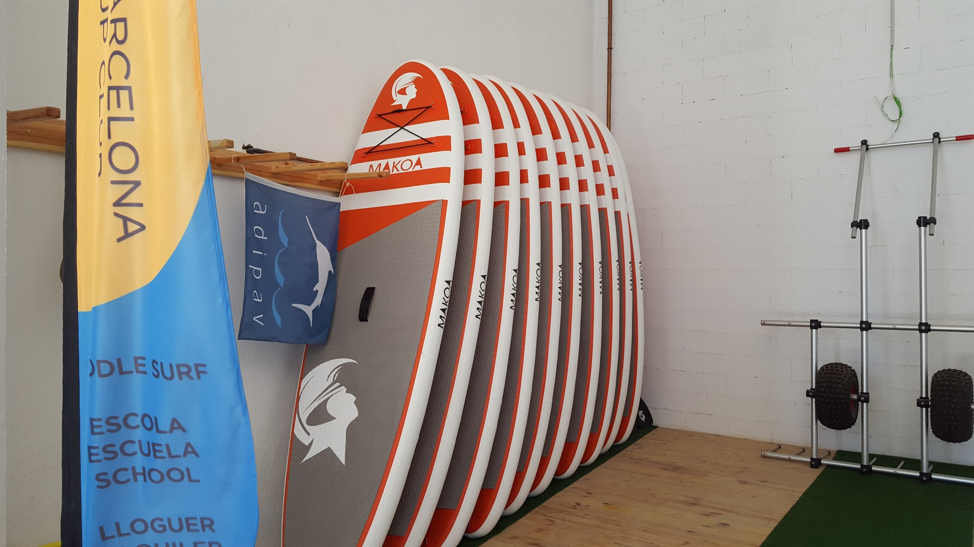 Foto 1 Oferta Gimnasio Stand Up Surf School Barcelona - GymForLess