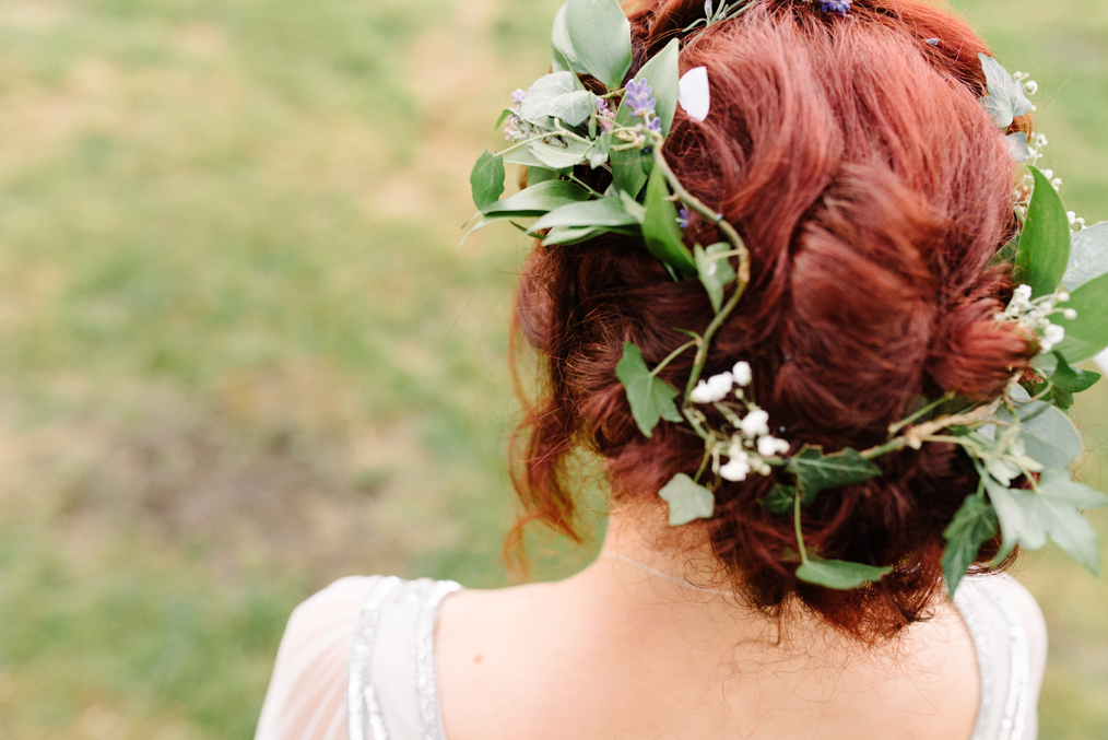 Festival Wedding Photography Cambridge Alternative wedding photographer Nottingham Rock n roll bride Boho Bride Flower Crown Festival wedding photography Nottingham Vegan Wedding