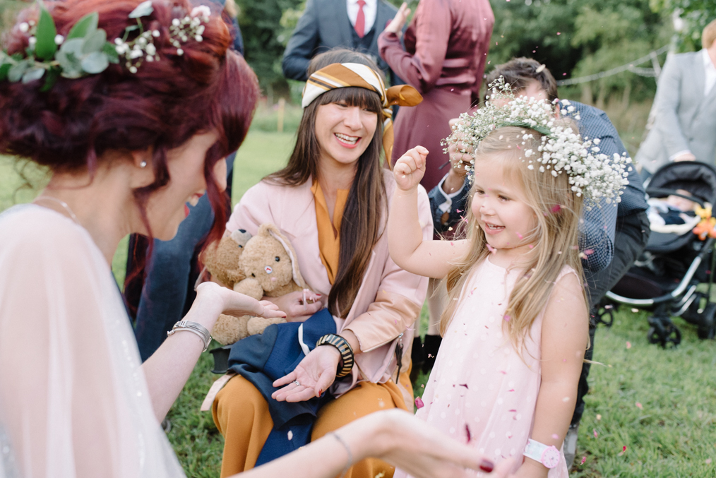 Festival Wedding Photography Cambridge Alternative wedding photographer Nottingham Rock n roll bride Boho Bride Flower Crown Festival wedding photography Nottingham