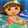 Dora the Mermaid Games : To help their friend Maribel the Mermaid find her way back h ...