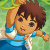 Go Diego Go Games : Arrange the pieces correctly to figure out the image. To swa ...
