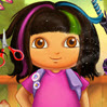 Dora Real Haircuts Games : Dora wants to change her look completely. As her personal ha ...