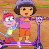 Dora Find Those Puppies Games : Lets help Dora look for the puppies on the road, by the rive ...