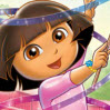 Fantastic Gymnastics Games : Dora is on her way to the big gymnastics show when Swiper sw ...