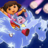 Dora Pegasus Adventure Games : Oh, no! A meteor shower has sent Pegaso is constellation fri ...