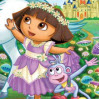 Dora and Unicorn King Games : Dora visits the enchanted forest to help King Unicornio prov ...