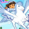 Princess Dora Games : Dora is going to find the magic snowflakes for the Snow Prin ...