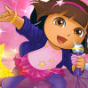 Dora Rocks Games : That sneaky fox, Swiper, has swiped Dora s special microphon ...