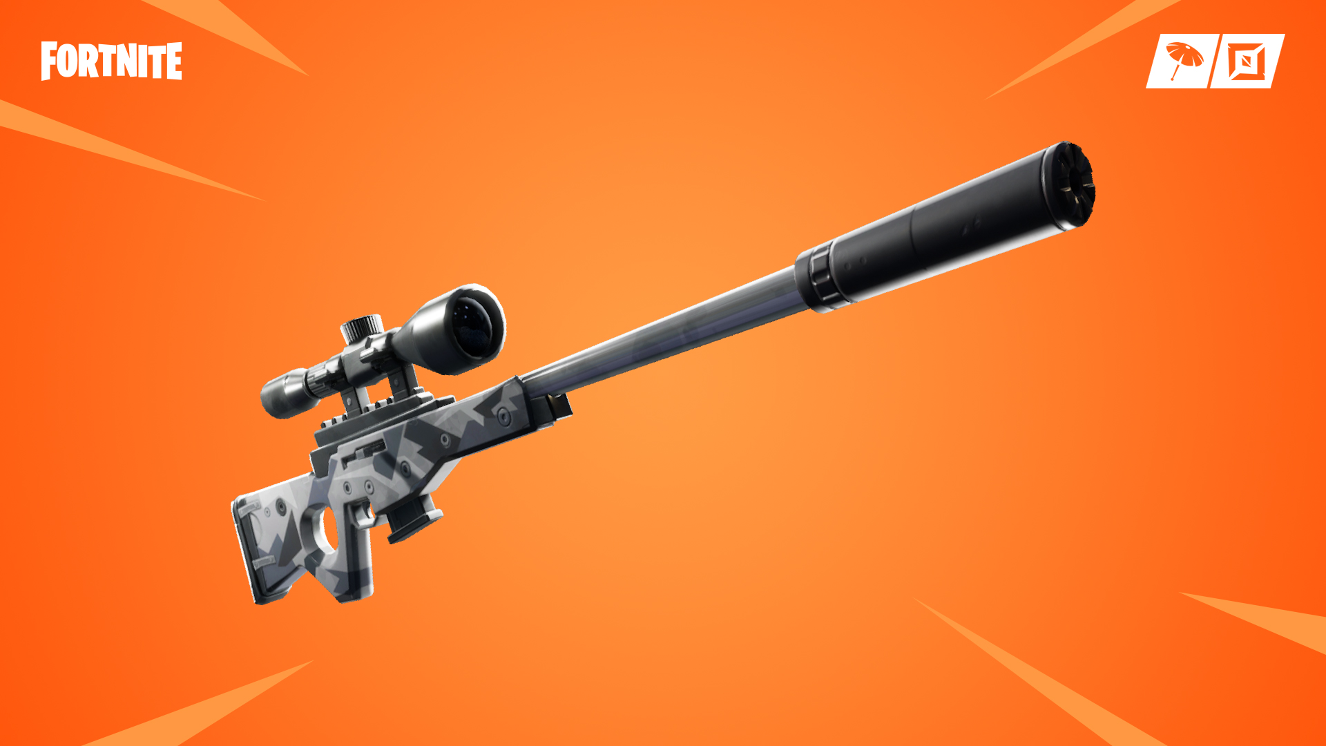 Fortnite's last content update before the next patch brings new silenced sniper rifle Cover