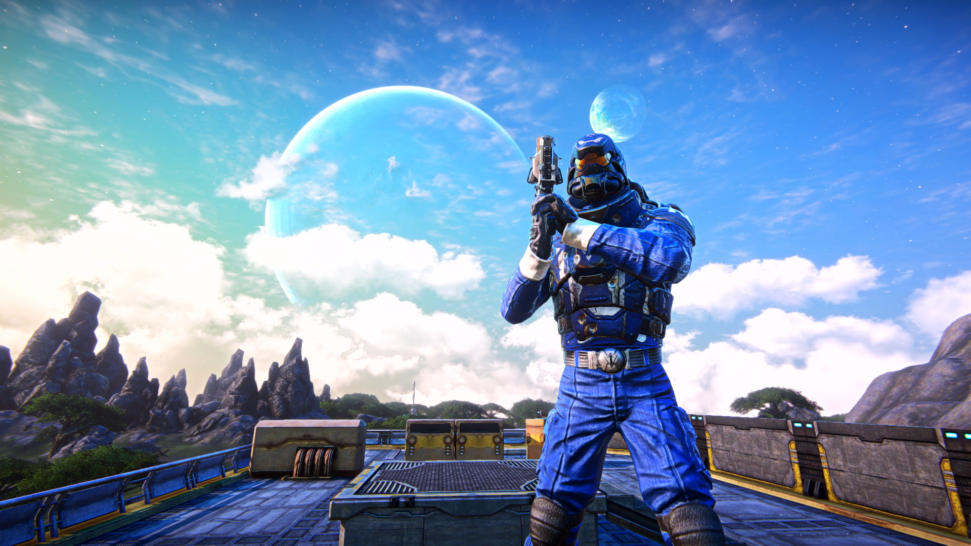 PlanetSide Arena's weapons should feel familiar to PlanetSide 2 players Cover