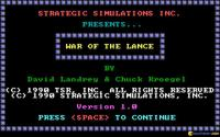 War of the Lance download