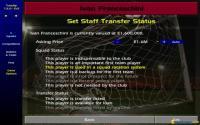 Setting transfer status for Franceschini