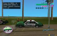 Just stolen a police car!