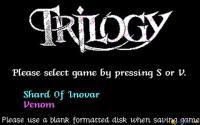 Trilogy (Shard Of Inovar, Venom) download