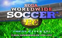 SEGA Worldwide Soccer download