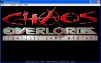 Game title screen