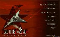 MiG-29 Fulcrum (Novalogic, 1998) download
