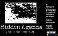 Hidden Agenda download