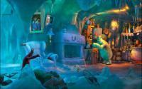 In the polar bear cave