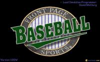 Front Page Sports: Baseball Pro '95 download