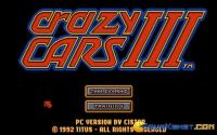 Crazy Cars 3 download