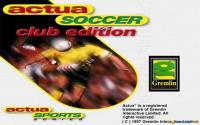 Actua Soccer Club edition download
