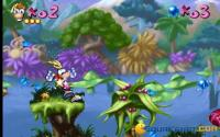Here it is Rayman world!