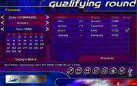 Qualifying round menu