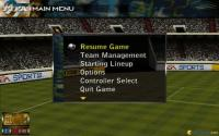 First match: main menu selection