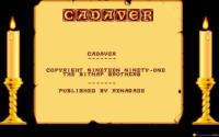Cadaver: the Payoff download