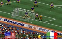 It was almost a goal!