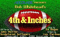 4th and Inches download