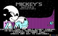 Mickey's Space Adventure download