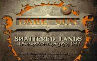 Dark Sun: Shattered Lands download