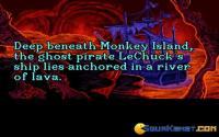Deep beneath Monkey Island...